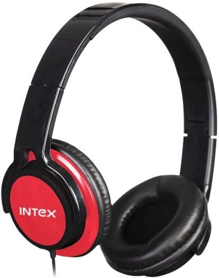 Intex Computer M/m Crazy Headphone (red) Stereo Wired Headphones