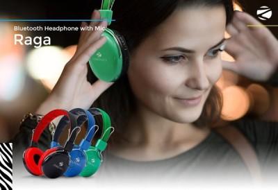 Zebronics Raga Stereo Wireless bluetooth Headphones