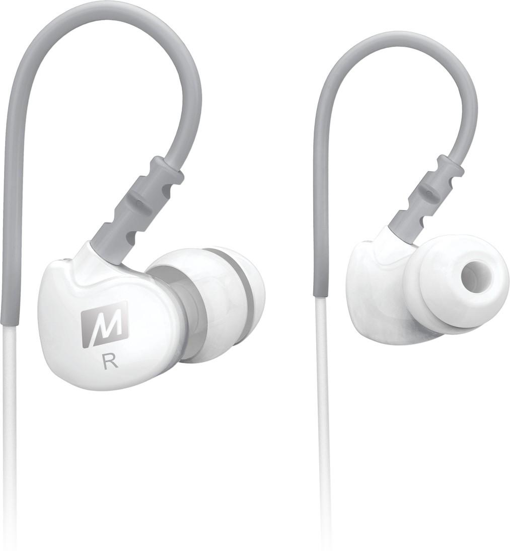 MEE Audio M6-WT Headphones(White, In the Ear)
