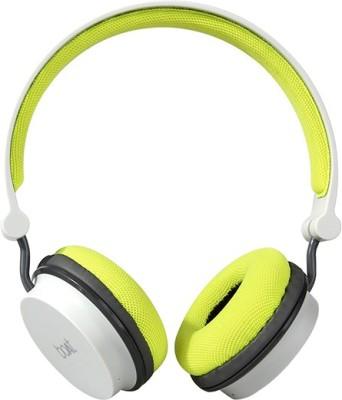 boAt Rockerz On Ear 400 Grey & Green Super EXTRA BASS On Ear HeadphoneS Wired & Wireless bluetooth Headphones(Grey & Green, On the Ear)