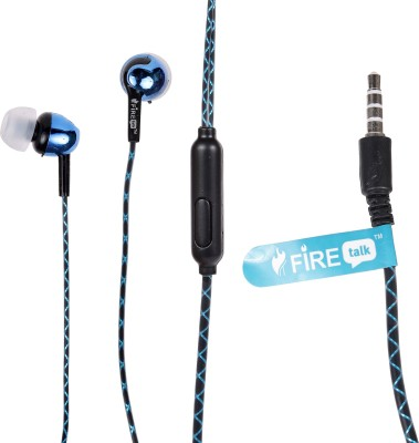 FIRE TALK HAND,S FREE SURROUND SOUND Wired Headphones