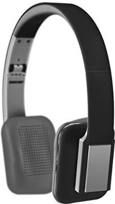 Sharper Image Shp2000Bk Universal Tangle Free Foldable Headphones With Mic Headphones