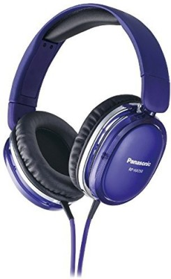 Panasonic Rp-Hx350-V [Support Dts Headphone -X] (Japan Import) Headphones(Purple)