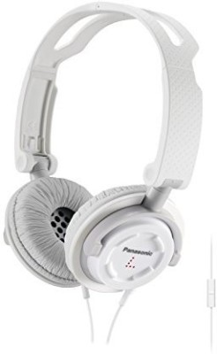 Panasonic Rp-Djs150M-W Foldz Collasible Travel Headphone Headphones(White)