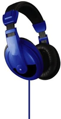 Vibe Sound Vs-750-Dj Noise Uction Stereo Headphones (Blue) Headphones