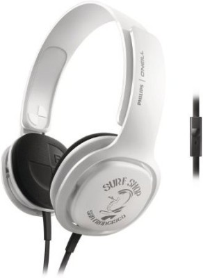 Philips Sho3305Stkr/28 O,Neill Cruz Headband Headphones Wired Headphones