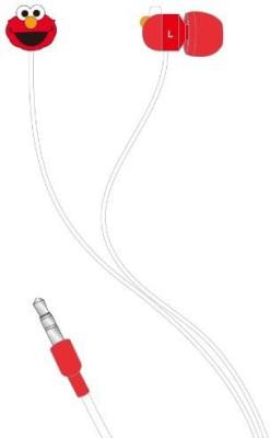 Gourmandise Sesame Street Stereo Earphone Ssm-29A[Japan Imports] Headphones