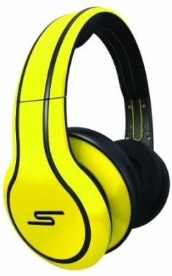 Sms Audio Sms-Wd-Ylw Street By 50 Cent Wi Over-Ear Headphones - Yellow Headphones