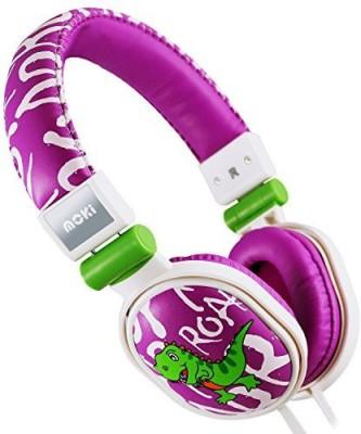 Moki International Moki Acchppoa Dinosaur Soft Cushion Headphones Headphones