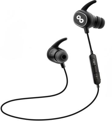 CrossBeats Pulse True HD Audio Dynamic Headphone bluetooth Headphones(Black, In the Ear)