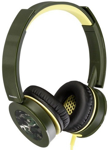 Panasonic RP-HXS400E-G TypeOver Ear; ConnectivityWired; Model IDRP-HXS400E-G Headphones(GREEN COLOUR, Over the Ear)