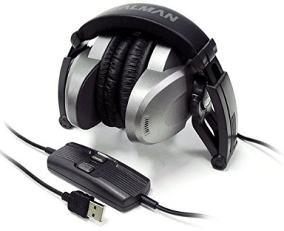 Zalman Zm-Rs6F-Usb Virtual 5.1-Channel Usb Stereo Headphones (Discontinued By Manufacturer) Headphones