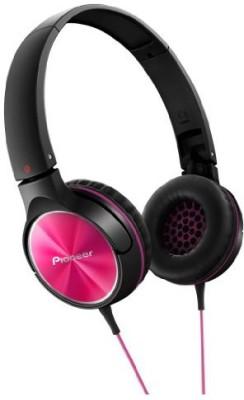 Pioneer Fully Enclosed Dynamic Headphones Se-Mj522-P () Headphones