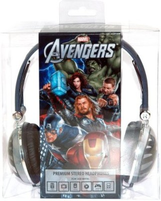 Marvel The Avengers Premium Headphones - Eagle Gray Headphones