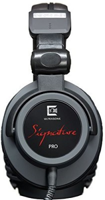 Ultrasone Signature Pro S-Logic Plus Surround Sound Professional Closed-Back Headphones With Hard-Sided Carrying Case Headphones