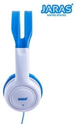 Jaras Kids Over The Ear Wi Headphones Volume Limited For Kids - Blue Headphones