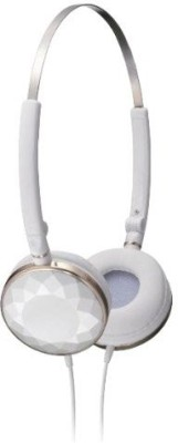 JVC Victor Head-Band Foldable Headphones | Ha-Sp70-W (Japanese Import) Headphones