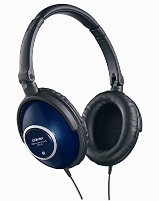 JVC Victor Head-Band Portable Headphones | Hp-S700-A Blue (Japanese Import) Headphones(Black)