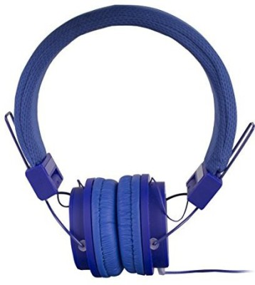 Vivitar Sakar Solid-Dblu-Five Solid Headphone Headphones