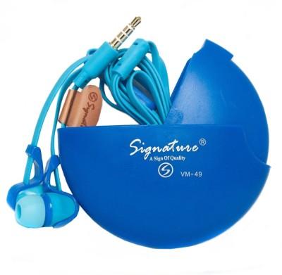 SIGNATURE VM-49 UNIVERSAL HANDSFREE Wired Headphones