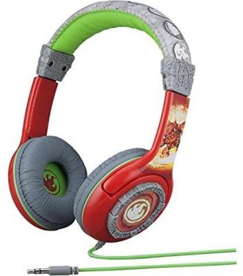 Skylanders Fire Element Kid-Friendly Headphones Headphones