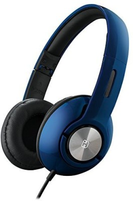 Ihome Ib45Lc On-Ear Foldable Headphones With Pouch Blue Headphones