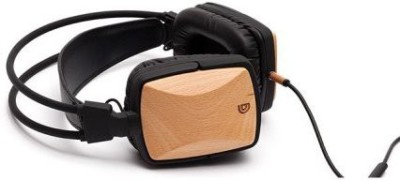 Griffin Technology Griffin Gc36503 Woodtones Over The Ear Headphones For Smartphones And Mp3 Devices, Beech Headphones