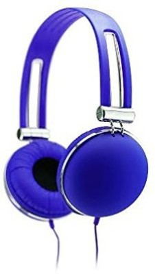 Sentry Industries Inc. Best Retro Stereo Headphones, Blue Headphones