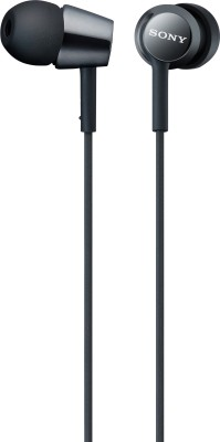 Sony MDR-EX150 Stereo Wired Headphones(Black, In the Ear)