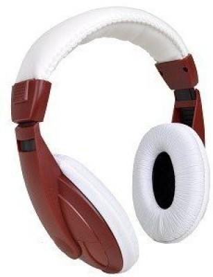 Vibe Sound Vs-750-Dj Noise Reduction Stereo Headphones (Red / ) Headphones