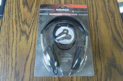 Radioshack Headphone Combo Pack Headphones