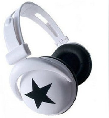 Generic Mix-Style Stereo Star Headphones For Mp3 Mp4 Pc Md Cd Headphones