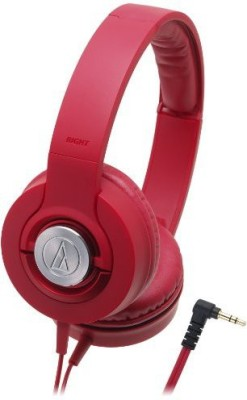 Audio Technica Solid Bass Portable Headphones | Ath-Ws33X Rd (Japan Import) Headphones