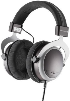 Beyerdynamic T 70 Over Ear Headphone, Black/ Headphones