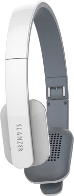 Slanzer SZHBT272 White Wireless bluetooth Headphones