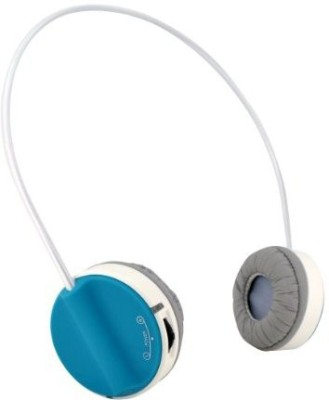 Home Zone Wbthp6 Wireless Bluetooth Stereo Headphones, Blue Wired bluetooth Headphones