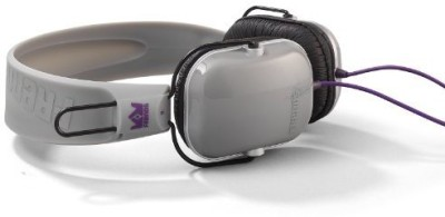 Summerland Frends The Light Wire Headphones With Built-In Mic And Remote - Ice Black Headphones