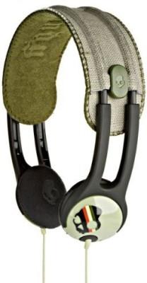 Skullcandy Icon Soft Headphones Habitat Rasta Headphones
