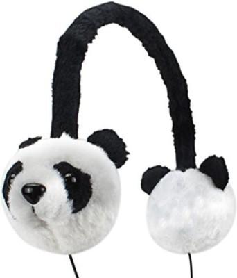 Accessory Power Gogroove Kdz Kids Safe Panda Over-Ear Headphones With Volume Limiting Sound - Works With Neutab N7 , Vuru Jr Headphones