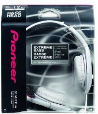 Pioneer Cuffie Dinamiche Over Ear Mj 711 Bianco Headphones