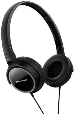 Pioneer Fully Enclosed Dynamic Headphones Se-Mj512-K () Headphones(Black)