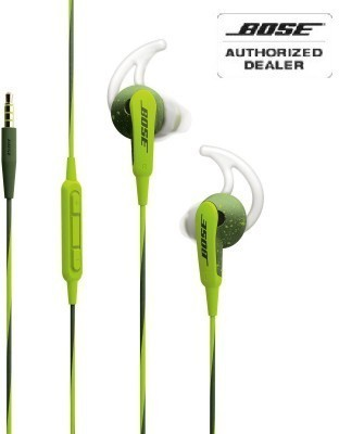 Bose SoundSport In Ear for Apple Devices in the ear Wired Headphones(Green, In the Ear)