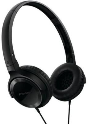 Pioneer Se-Mj502-K Fully Enclosed Dynamic Headphone Headphones