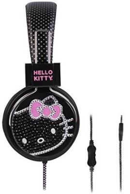 Sakar Hello Kitty Hk-Glz-Ta Glitx Headphone Headphones(Black)