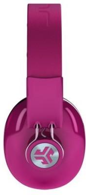 Jlab Bombora Over The Ear Headphones With Universal Mic - Passion Fruit / Grigio Gray Headphones