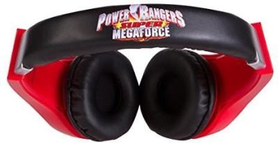 Sakar Power Rangers 30332-Tru Kid Safe Over-The-Ear Headphone With Volume Limiter Headphones(Multicolor)