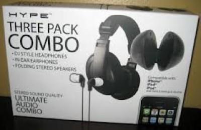Hype Ultimate Audio Combo Headphones