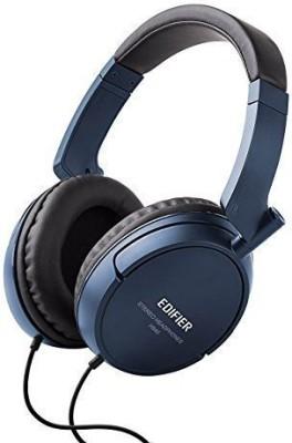 Edifier H840 Hi-Fi Over-Ear Noise-Isolating Gaming / Monitor Headphone - Blue Headphones(Black)