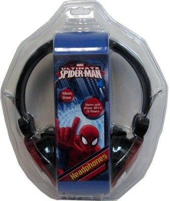 Sakar Spiderman 33744-Tru Headphones With Molded Head Headphones