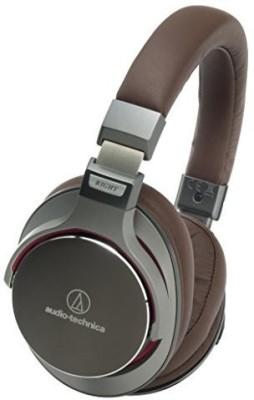 Audio Technica Ath-Msr7 Gm (Gun-Metal ) High Resolution Audio Over-Ear Headphone (Japan Import) Headphones(Brown)